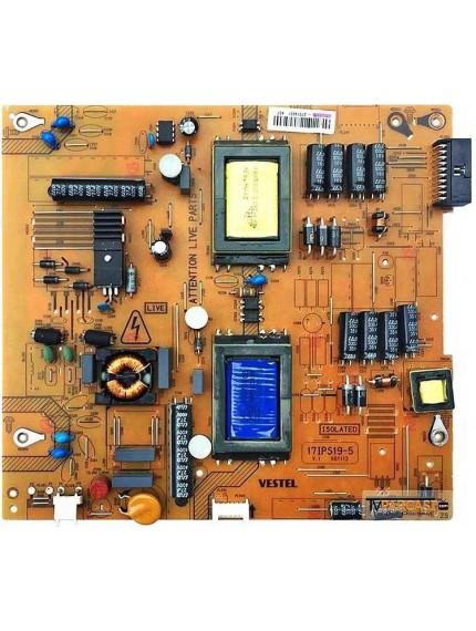 23090775, 17IPS19-5, V1 061112, Vestel 32PH5065 Led tv, VES315WNES-02