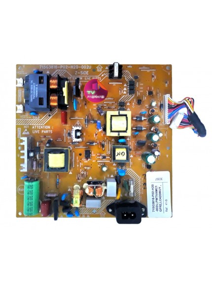 715G3816-P02-H20-002U , PWTVAMC1GPR2,LC420WUY , 32PFL3205 , 32PFL3605H , POWER BOARD , PHILIPS BESLEME