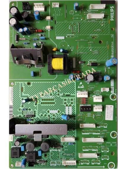 3104 313 60647 , 3104 328 47972 , PHILIPS , 42PF5421 , /10 , LCD , LC420W02 SL B1 , HD READY , Power Board , Besleme Kartı , PSU