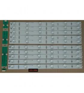 Arcelik_42_athena_5X6+5x6_2121C_6S1P_R P74, ZBB60600-AA Non Horizantal, REV.V0, LED Backlight Strip Set, BMS LG TM 100HZ 3D, 057K42-A09, LED BAR