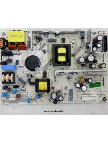 17PW26-3 , POWER BOARD, 20433341 , VESTEL 32VH3000 ,