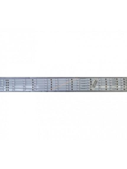 GJ-2K16-430-D512-V4,TPT430U3-EQYSHM.G, 43PUS6401/12, TPT430U3-EQYSHM.G , Philips 43PUS6401/12 PANEL LED, Philips 43PUS6101/12 PANEL LED, Led Bar, Led Backligth Strip