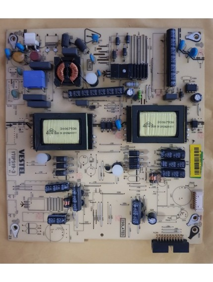 """17ips19-3 Power Supply Board 23024321 For 26"""" Tv Finlux Fin26ledhdr"""