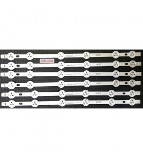 42 VNB Reduced A-TYPE REV0.1, 30085178, Vestel, VES420UNDL-2D-N03, BACKLIGHT LED ÇUBUK-A, LED BAR