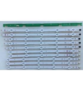 LG , LC420DUE SF U1 , LC420DUN SF R3 , 42LA620S , 6916L-1318A , 6916L-1319A , 6916L-1320A , 6916L-1321A , 10 ADET LED ÇUBUK