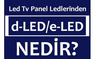Led Tv Panel Ledleri, Led Backlight, dLed, eLed Çubuk Led Bar